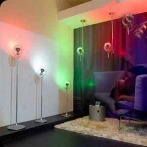 Bóng đèn led đổi màu trang trí cửa hàng