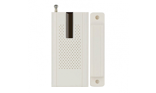 Thiết bị cảm biến má từ báo cửa mở kết nối không dây với bộ trung tâm