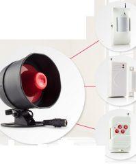 Bộ kit combo thiết bị báo động kết nối Loa to