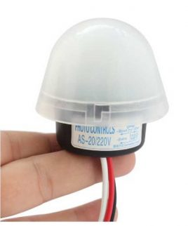 Công tắc cảm biến ánh sáng 10A