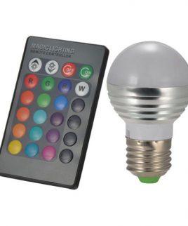 Bóng đèn led đổi màu điều khiển từ xa